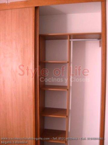 Closets bogota closets en madera closets modulares for Closets df precios