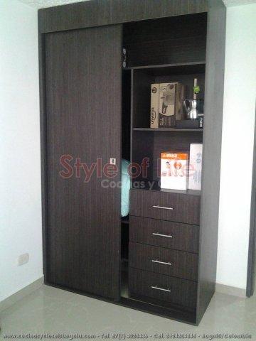 Closets bogota precios muebles de madera maciza for Fabricas de closet en bogota